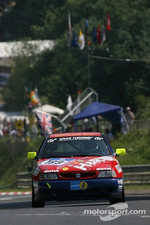 #189 Team DMV Seat Ibiza: Hans-Christoph Schäfer, Lessmeister, Marc Holtschneider, Mike Pötzl