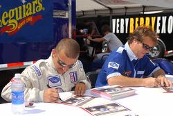 Adam Pecorari and Gunnar van der Steur