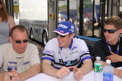 Andy Wallace, Chris Dyson, et Guy Smith