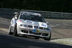 #105 MS Racing Seat Leon: Manfred Sick, Harald Böttner, Andreas Potrzeba