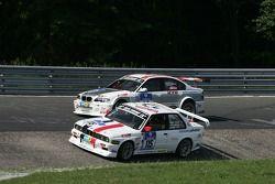 #115 Matthias Behr BMW 320 is: Matthias Behr, Thilo Winkler