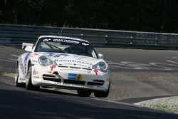 #59 Bonnfinanz Motorsport Porsche 996 GT3 Cup: Oliver Rövenich, Mario Merten, Thomas Brügmann, Wolf