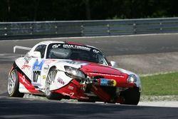 #107 Markus Fugel Honda S2000: Markus Fugel, Steve Kirsch, Ruben Zeltner, Uwe Wächtler