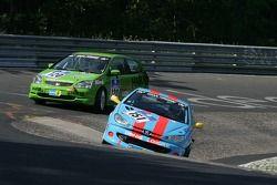 #151 Peugeot 206CC: Denis Gaessler, Francis Fabbri, Stéphane Caillet, Christian Lorang
