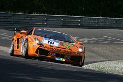 #16 Lambo-Racing Lamborghini Gallardo GTR: Stephan Rösler, Andreas Kitzerow, Florian Scholze, Georg