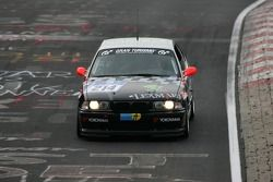 #214 Sascha Hancke BMW M3 - E36 GT: Sascha Hancke, Jürgen Peter, Jörg Klinkhammer, Jens Hawner
