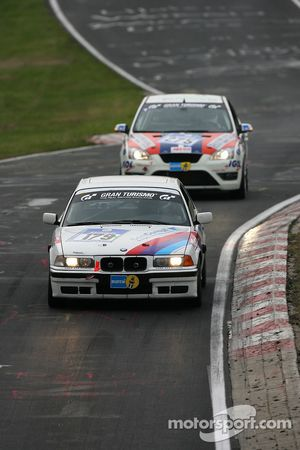 #179 Michael David BMW 318 is: Michael David, Thomas Simon, Reiner Bardenheuer