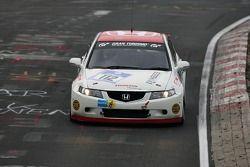 #112 Honda R&D Europe Honda Accord Euro R: Cyril Kalbassi, Olaf Bendixen, Fabian Ottmann, Patrik Ponec