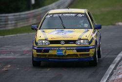 #125 Fun Motorsports Volkswagen Golf 3 Gti 16V: Philippe Godet, Armin Holz, Joachim Müller, Lars Döhmann