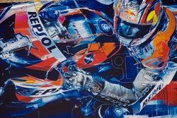 Граффити Red Bull MotoGP к сезону 2007