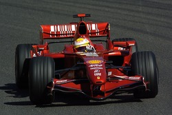 Luca Badoer, Test Driver Scuderia Ferrari, F2007