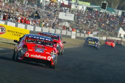 Saturday race 1 V8 Supercars