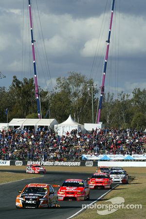 Tander leads the field