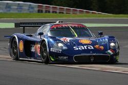 #12 Scuderia Playteam Sarafree Maserati MC 12 GT1: Giambattista Giannoccaro, Max Busnelli, Alex Muller, Yves Lambert