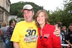 Marc Duez et Sarah Bovy