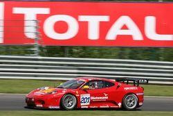 #201 JMB Racing Ferrari 430 GT3: Peter Kutemann, Henk Haane