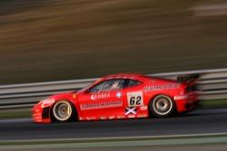 #62 Scuderia Ecosse Ferrari 430 GT2: Tim Mullen, Tomas Enge, Jarek Janis, Johnny Kane