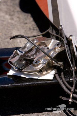 Système de freinage brisé
