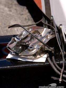 Broken brake system