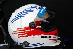 Helmet of Chris Dyson