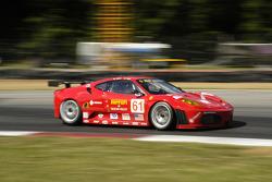 #61 Risi Competizione Ferrari 430 GT: Gianmaria Bruni, Éric Hélary