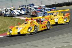 Le début avec l'équipe Penske Motorsports Porsche RS Spyder devant
