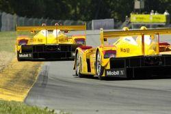 Penske Motorsports Porsche RS Spyder Team exiting the keyhole