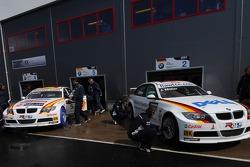 Jorg Muller, BMW Team Germany, BMW 320si WTCC and Felix Porteiro, BMW Team Italy-Spain, BMW 320si WT