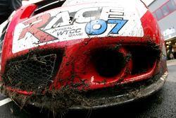 N Technologie, Alfa Romeo 156, avec de la boue sur le pare-chocs