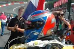 Helmet of Marcel Fassler