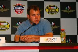 Press conference: Ryan Newman