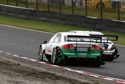 Voiture de Markus Winkelhock, TME, Audi A4 DTM and Bernd Schneider, Team HWA AMG Mercedes, AMG Merce