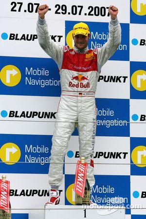 Podium: Martin Tomczyk, Audi Sport Team Abt Sportsline