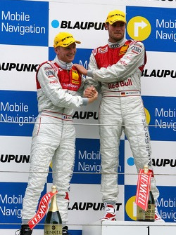 Podium: Martin Tomczyk, Audi Sport Team Abt Sportsline et Alexandre Premat, Audi Sport Team Phoenix