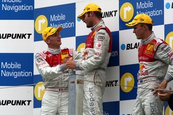 Podium: 1er Martin Tomczyk, Audi Sport Team Abt Sportsline, Audi A4 DTM; 2ème Alexandre Prémat, Audi Sport Team Phoenix, Audi A4 DTM; 3ème Mattias Ekström, Audi Sport Team Abt Sportsline, Audi A4 DTM