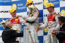 Podium: 1er Martin Tomczyk, Audi Sport Team Abt Sportsline, Audi A4 DTM; 2ème Alexandre Prémat, Audi