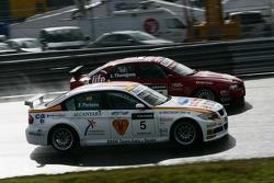 Felix Porteiro, BMW Team Italy-Spain, BMW 320si WTCC and James Thompson, N Technology, Alfa Romeo 15