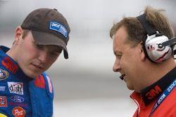 Todd Kluever et le chef d'équipe, Eddie Pardue