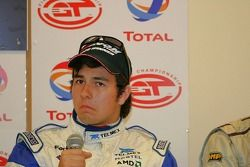 Sergio Perez is used to being interviewed now