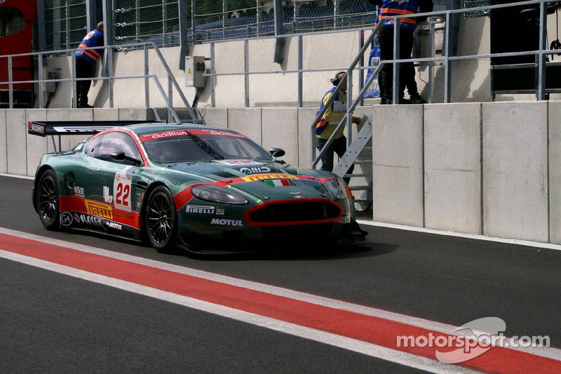 #22 Aston Martin Racing BMS Aston Martin DBR9: Enrico Toccacelo, Alex Frassinetti, Gabriele Lancieri, Riccardo Ragazzi