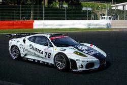 #78 JMB Racing Ferrari 430 GT2: Charles de Pauw, Alain van den Hove, Didier De Radigues, Paul Belmondo