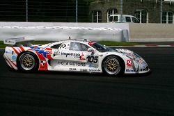 #105 G&A Racing Mosler MT900R: Guino Kenis, Michael De Keersmaecker, Patrick Smets, Christian Mattheus