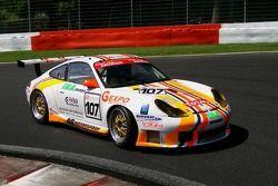 #107 AB Motorsport Porsche 996 GT3 Cup: Antonio de Castro, Renato Premoli, Bruno Barbaro