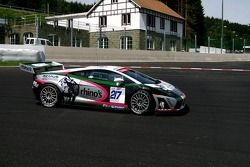 #217 S-berg Racing Lamborghini Gallardo GT3: Milan Urban, Jan Urban