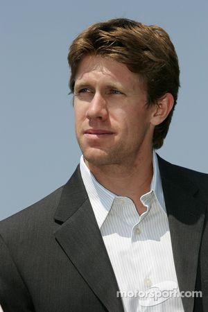 Conférence de presse pré-événement: Carl Edwards pilote de la #60 Ford NASCAR Busch Series car