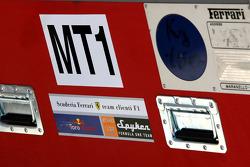 Caja de viaje de motor de Ferrari