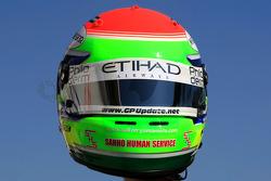 Casco de Sakon Yamamoto, Spyker F1 Team