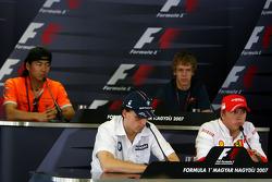 Conferencia de prensa de la FIA: Sakon Yamamoto y Sebastian Vettel