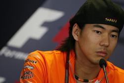 Conferencia de prensa de la FIA: Sakon Yamamoto