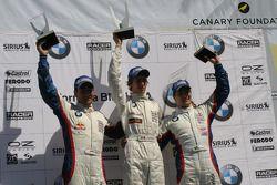 Le podium: Daniel Morad, Esteban Guterriez et Ricardo Favoretto
